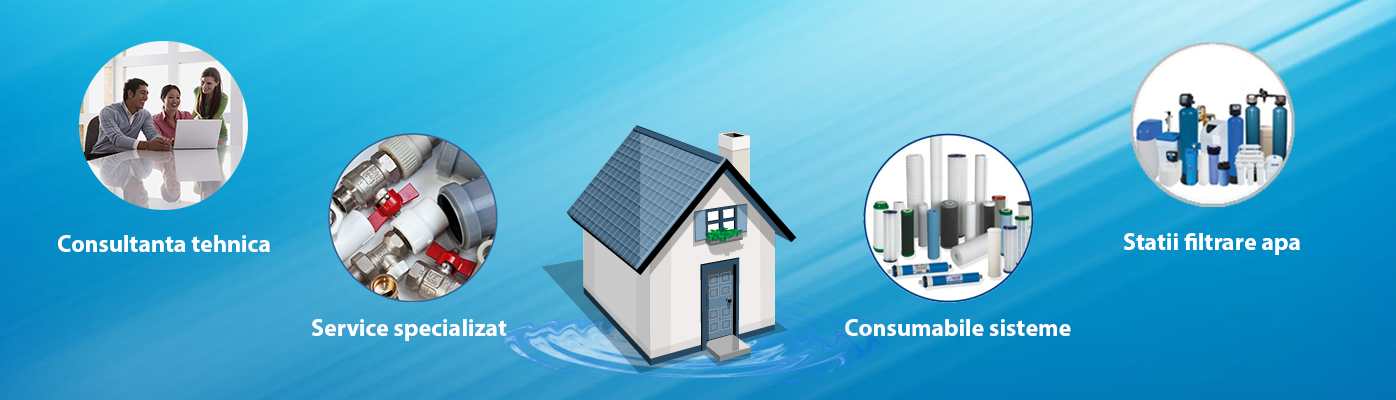 echipamente filtrare apa